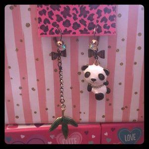 🐼 Bamboo Panda Earrings 🐼
